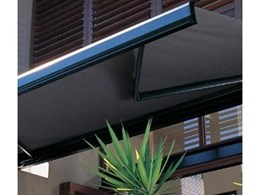 Fabric awnings from Hunter Douglas Commercial