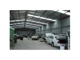 Factories and warehouses available from Trusteel Fabrications