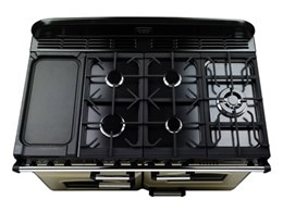 Falcon welcomes the Classic Deluxe 110 and 90 Dual Fuel range of cookers
