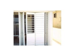 Federation folding shutters from Shutterflex