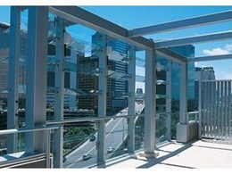 Fineline Series operable glass facades from Record Automated Doors
