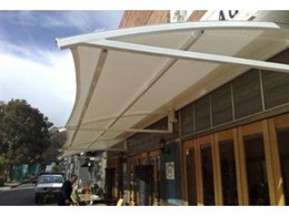 Fixed arm awnings from Pattons Awnings