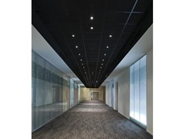 Fletcher Insulation showcase their upcoming range of Eurocoustic ceiling tiles