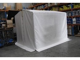 Flexshield welding tents offer complete protection for all onsite welding