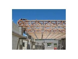 Floor trusses from Pryda Australia travel to far north Queensland