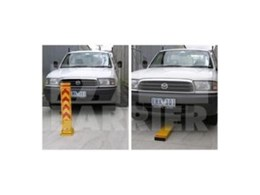 Fold down Bollard by Barrier Security Products