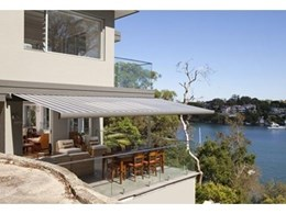 Folding arm awnings available now from Accent Blinds Australia