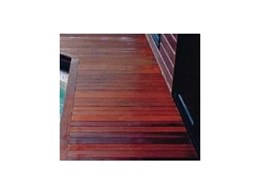 Forest Red Hardwood Decking from Hyne Timber