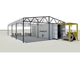 FrameCAD Solutions build steel frame house in 22 hours