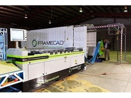 Framecad's Fast-Track Building System at Brisbane Steel Frame Expo