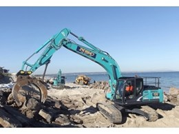 Fuel efficiency in every operation – a common theme for Kobelco customers