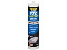 Fuller 770 sanitary silicone sealant