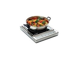 Fully portable induction cooktop