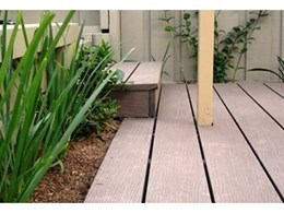 Futurewood composite decking now available at Masters hardware outlets