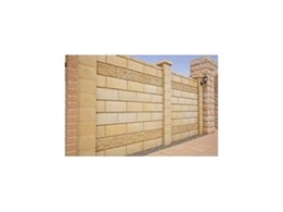GB Masonry launches new DIY Fence Stone Wall System