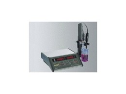 GLP compliant laboratory pH meter with assured safety and simplicity