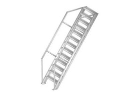 GS55 fixed roof access stairs available from Gorter Hatches
