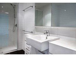GWA supplies bathroom and kitchen fittings to Melbourne's MainPoint Apartments