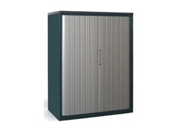 Galaxy tambour door office storage cabinets from Bosco Storage Solutions