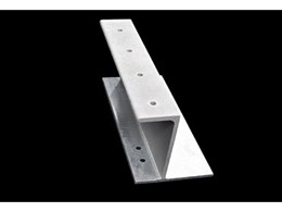 Galintel J-Bar steel shelf beam