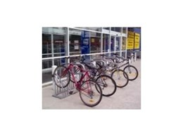 Galvanised and stainless steel bike racks available from SecureAbike