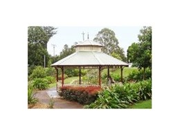 Gazebos available from Landmark Products