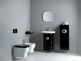 Geberit's new touchless flush plate takes bathroom design into the future