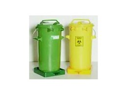 General & biohazard waste bins