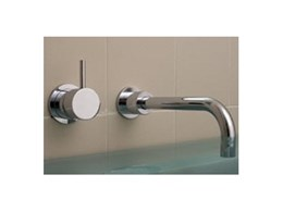 Geo Viva and Intamix Geo Viva bathroom tapware available from Accent International