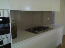 Glass splashbacks in a range of styles and colours from Clear Designs