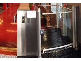 Glaze low-rise platform lift improves accessibility at RMIT University Melbourne