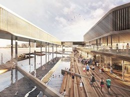 Woods Bagot propose massive transformation of SA's Glenelg jetty