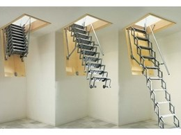 Gorter Hatches introduces new range of scissor stairs and attic ladders