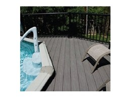 Gossen Passport PVC decking available from Composite Materials Australia