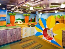 Laminates from Wilsonart's Indie collection help bring Children's Centre to life at Granger church