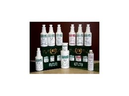 Granite and marble cleaners and care products