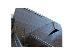 Green Resources Material Australia presents BioWood low maintenance fire retardant composite cladding and facade products