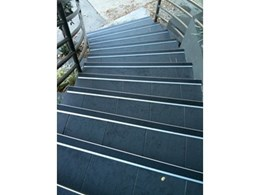 Grip Guard anti-slip safety stair nosings