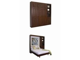 Guestroom wall beds available from Hideaway Beds