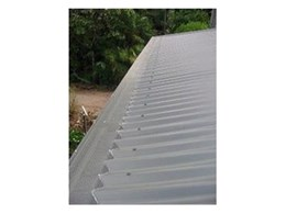 Gutter fire protection system from The Leafman Australia