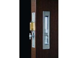 HB690 Privacy sliding door lock available from Halliday & Baillie