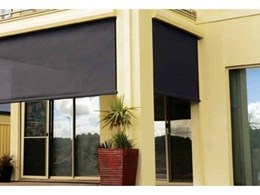 HVG Decorative Fabrics and Films offers Visiontex Plus outdoor mesh awnings