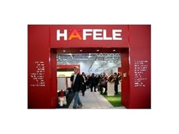 Hafele display new furniture at Interzum 2009