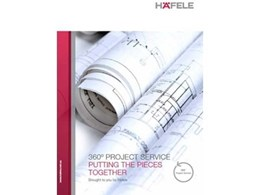 Häfele's 360° Project Service: Helping clients put the pieces together