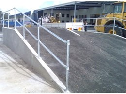 Handrail from Armco Barriers Pty Ltd