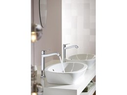 Hansgrohe Metris Classic bathroom tap range available from Just Bathroomware