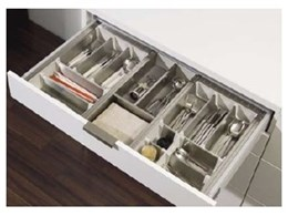 Harn Organiseplus drawer accessories keep kitchens organised