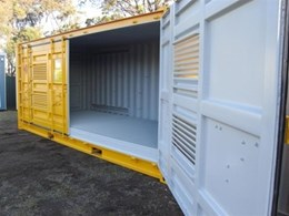 Hazardous goods storage containers from Port Container Services