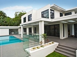Hebel AAC panels selected for external walls in stunning luxury home