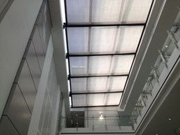 Helioscreen Varioscreen sun roof system provides smart sun control solutions